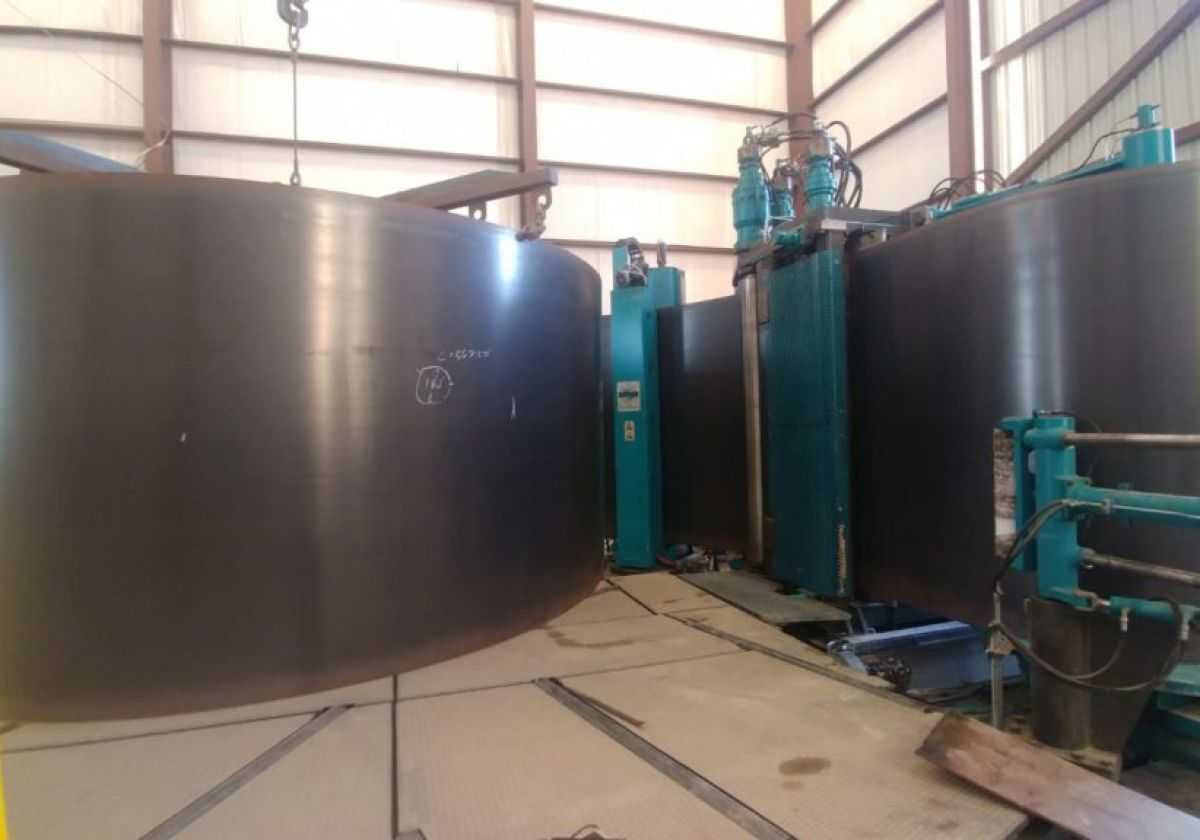 Vertical Tank System Assembled and Accepted