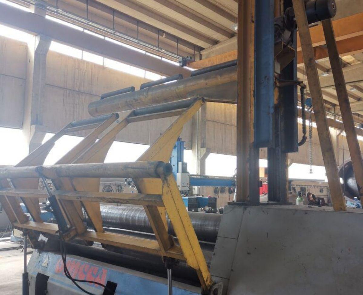 Plate Rolls Bending OMCCA 4 ROLLS 2500X12