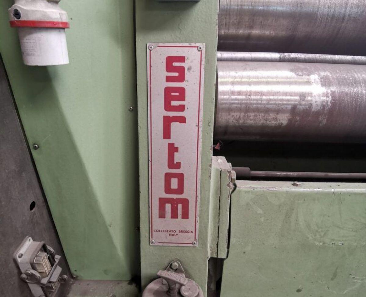 Plate Rolls Bending SERTOM RICF 3000X5