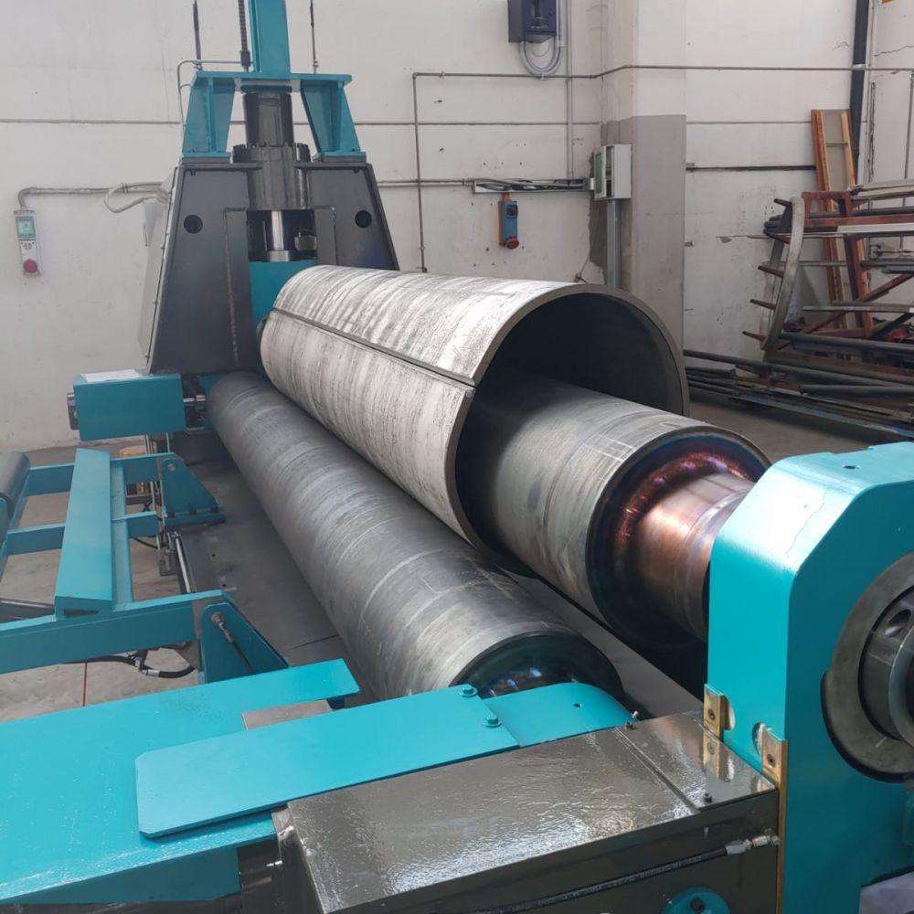 3 Rolls Plate Bending Machine