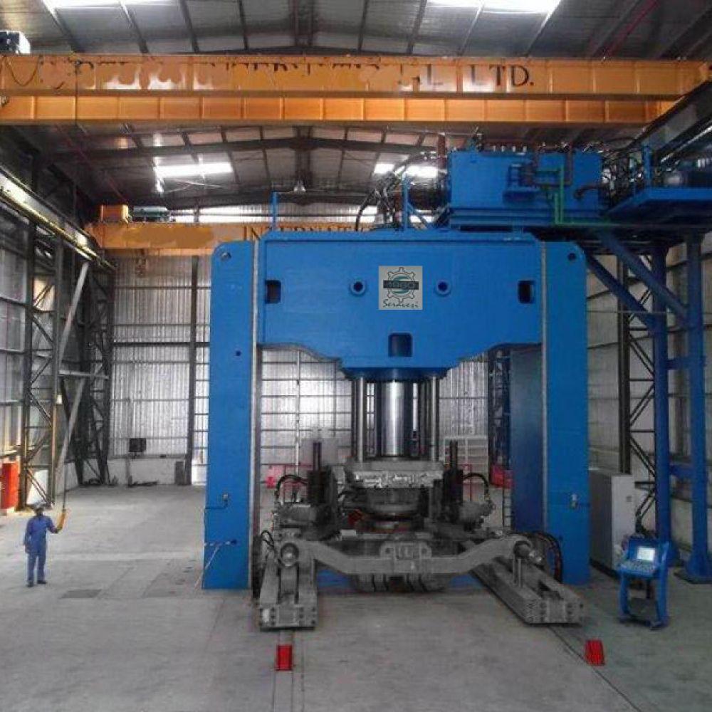 Hydraulic Presses and Manipulator
