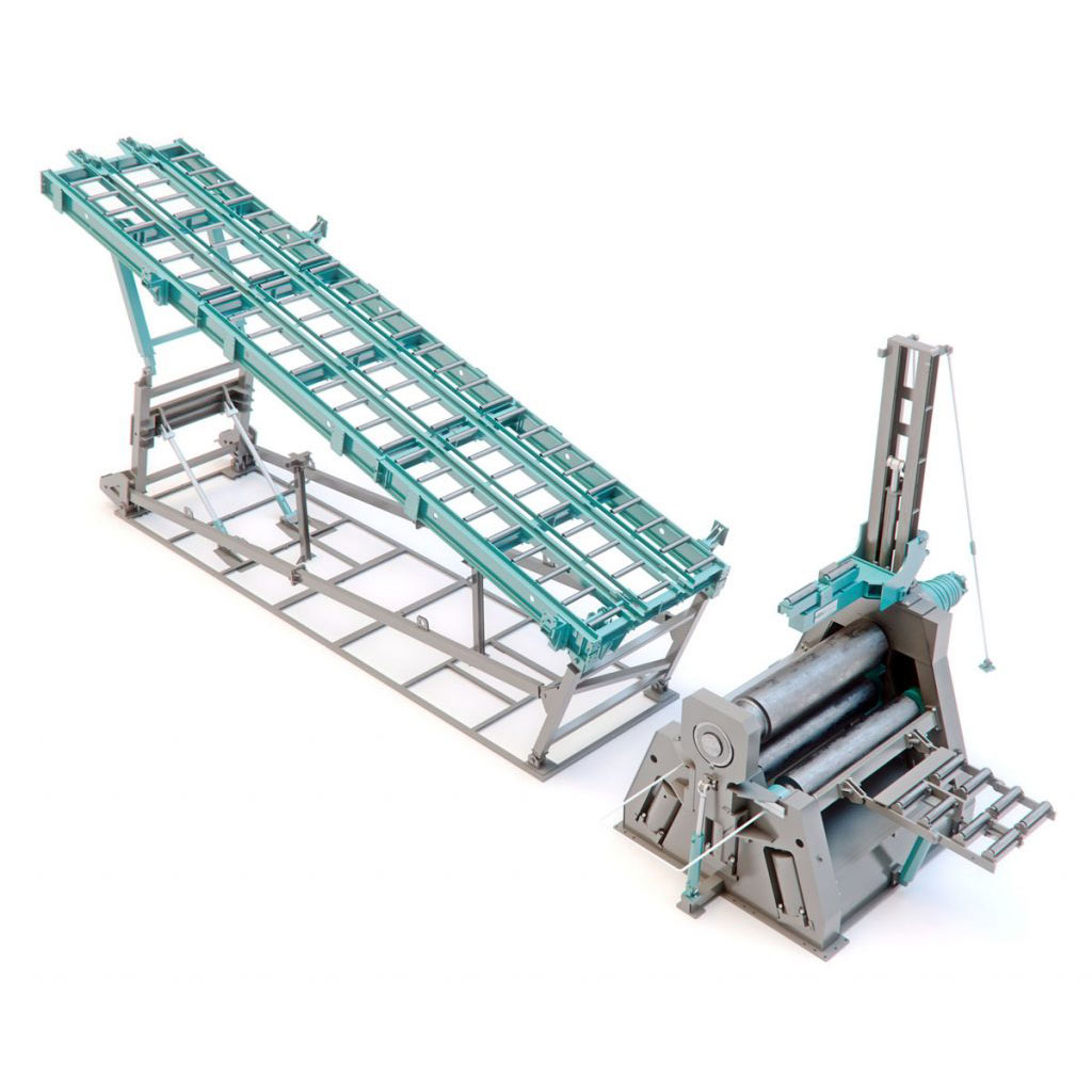 4 Rolls Plate Bending Machine